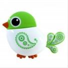 Tandenborstelhouder vogel groen met zuignap
