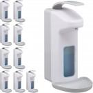 relaxdays 10 x desinfectie dispenser - zeepdispenser - zeeppomp - zeep dispenser – lotion
